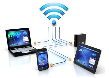 WiFi devices connected